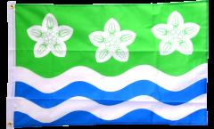 Flagge Großbritannien Cumberland