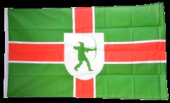 Flagge Großbritannien Nottinghamshire neu