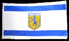 Flagge Israel Jerusalem - 90 x 150 cm