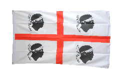 Flagge Italien Sardinien