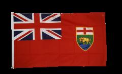 Flagge Kanada Manitoba