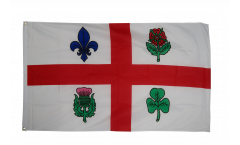 Flagge Kanada Montreal - 90 x 150 cm