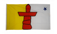 Flagge Kanada Nunavut