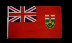 Flagge Kanada Ontario - 90 x 150 cm