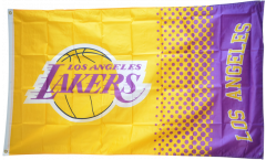 Flagge Los Angeles Lakers