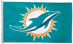 Flagge NFL Miami Dolphins - 90 x 150 cm