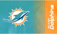 Flagge NFL Miami Dolphins Fan - 90 x 150 cm