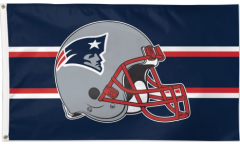 Flagge NFL New England Patriots Helmet - 90 x 150 cm