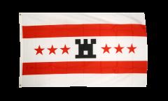 Flagge Niederlande Drenthe