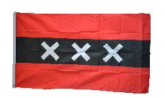 Flagge Niederlande Stadt Amsterdam