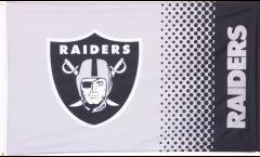 Flagge NFL Oakland Raiders Fan - 90 x 150 cm