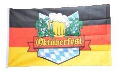 Flagge Oktoberfest Deutschland - 90 x 150 cm
