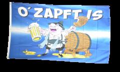 Flagge Oktoberfest O' Zapft is - 90 x 150 cm