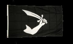 Flagge Pirat Arm mit Schwert - 90 x 150 cm