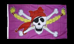 Flagge Pirat Pirate Princess Prinzessin