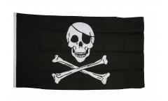 Flagge Pirat Skull and Bones