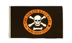 Flagge Pirat The Pirate Republic - 90 x 150 cm