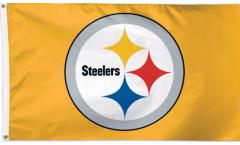 Flagge Pittsburgh Steelers Gold