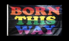 Flagge Regenbogen Born This Way