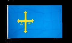 Flagge Spanien Asturien - 90 x 150 cm