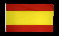 Flagge Spanien ohne Wappen