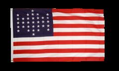 Flagge USA 33 Sterne