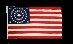 Flagge USA 38 Sterne 1877