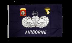 Flagge USA Airborne - 90 x 150 cm