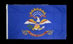 Flagge USA North Dakota