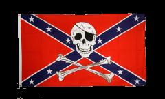 Flagge USA Südstaaten Pirat - 90 x 150 cm