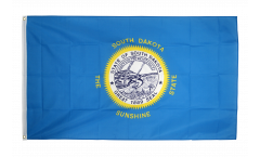 Flagge USA South Dakota
