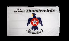 Flagge USA Thunderbirds US Air Force - 90 x 150 cm