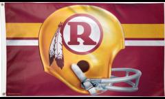 Flagge Washington Redskins Helmet