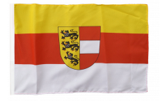 Flagge mit Hohlsaum Österreich Kärnten
