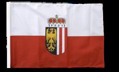 Flagge mit Hohlsaum Österreich Oberösterreich