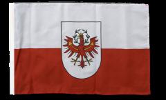 Flagge mit Hohlsaum Österreich Tirol