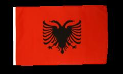 Flagge mit Hohlsaum Albanien