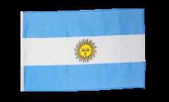 Flagge mit Hohlsaum Argentinien