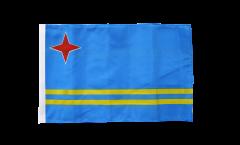 Flagge mit Hohlsaum Aruba