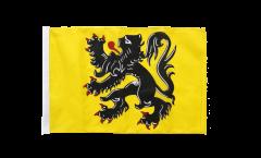 Flagge mit Hohlsaum Belgien Flandern