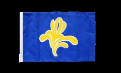 Flagge mit Hohlsaum Belgien Hauptstadtregion Brüssel