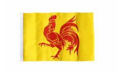 Flagge mit Hohlsaum Belgien Wallonien