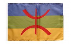 Flagge mit Hohlsaum Berber Amazigh