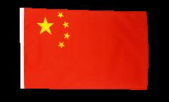 Flagge mit Hohlsaum China