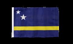 Flagge mit Hohlsaum Curacao