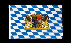Flagge mit Hohlsaum Deutschland Bayern mit Löwe
