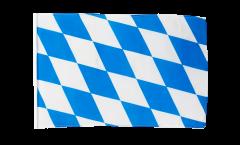 Flagge mit Hohlsaum Deutschland Bayern ohne Wappen
