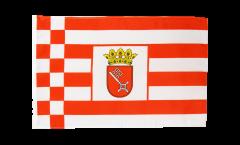 Flagge mit Hohlsaum Deutschland Bremen