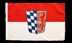 Flagge mit Hohlsaum Deutschland Niederbayern