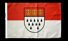 Flagge mit Hohlsaum Deutschland Stadt Köln
